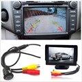 Novo 4.3 polegada 480x272 TFT LCD Car Retrovisor Monitor + 420 Linhas de TV Câmera de Estacionamento de Backup