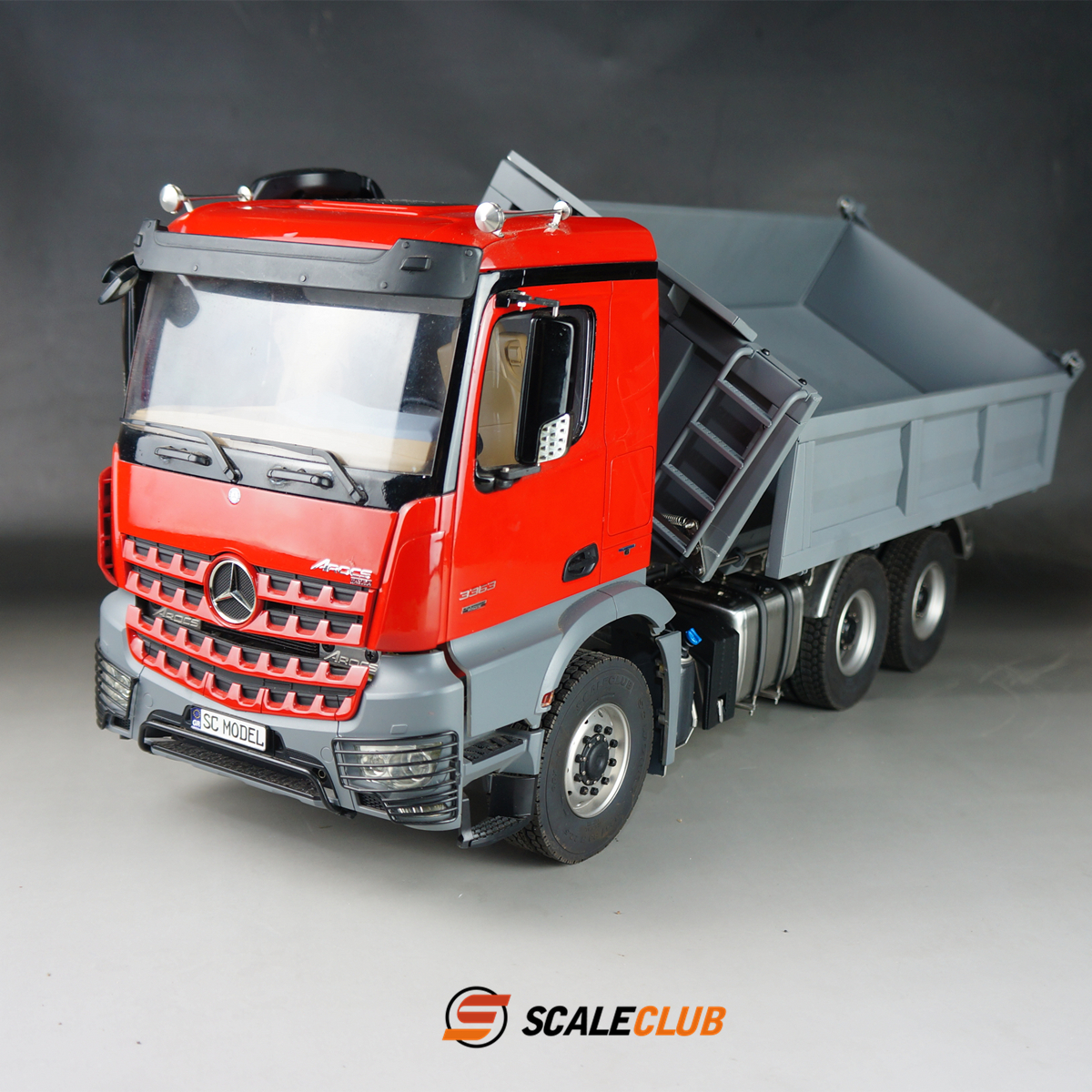 LESU Metal CNC Platform B DIY 1//14 Tamiya Benz 3363 3348 RC Tractor Dumper Truck