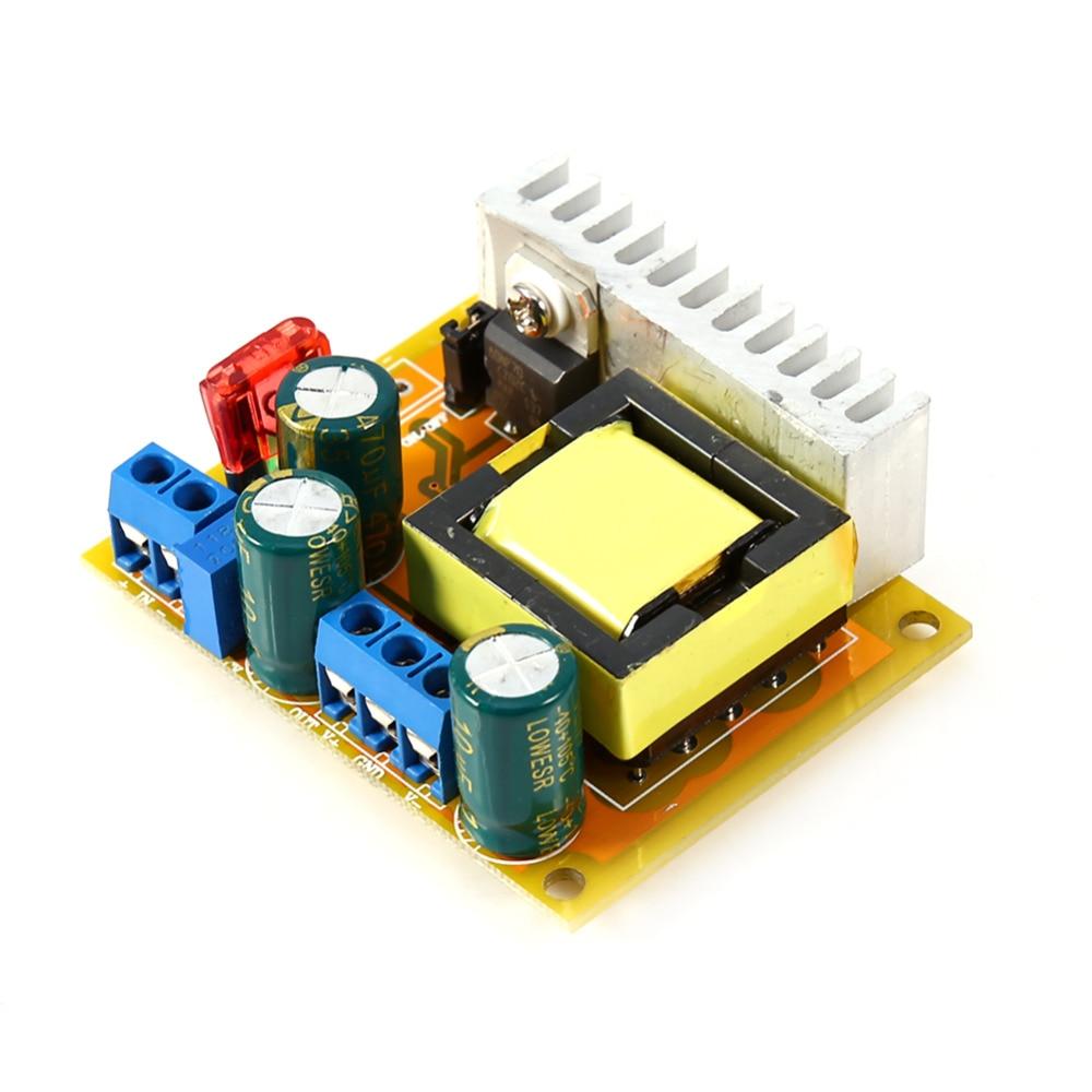 Regulador de voltaje de alto voltaje DC-DC Boost convertidor 8-32 V 12 V a +/-45 V-390 V ZVS Capacitor carga Step Up fuente de alimentación