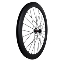 cyclo cross carbon wheel disc brake 50mm clincher tubular rim 23/25mm decal available wheelset for repair road bike replace item