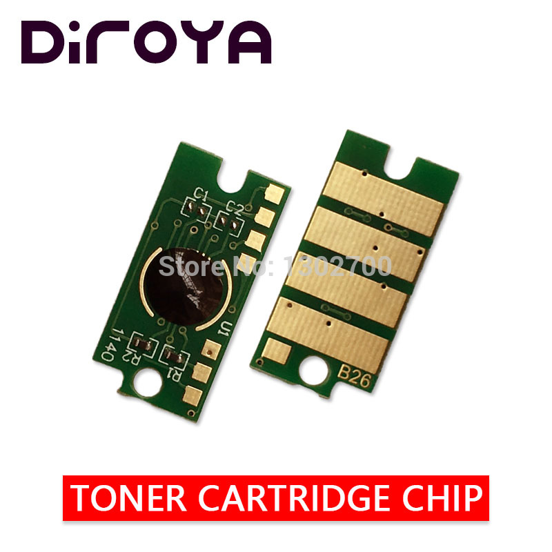 8PCS 106R02759/2756/2757/2758 Toner cartridge chip For Xerox Phaser 6020 6022 WorkCentre 6025 6027 printer powder refill reset