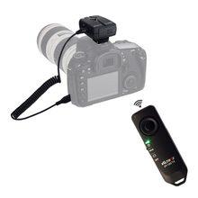 Controle remoto sem fio da liberação do obturador da câmera para nikon d3100 d3200 d5200 d5300 d5500 d7000 d7200 d750 dslr