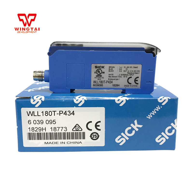 Germany SICK WLL180T-P434 Fiber Optic Sensor LED light reflective optical sensor fiber optic sensor pq 02