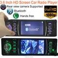 Rádio Estéreo do carro MP3 MP4 Player 4.1 ''TFT HD 12 V Vídeo e Áudio do carro MP5 FM/USB/SD/suporte mãos livres bluetooth Remoto controle