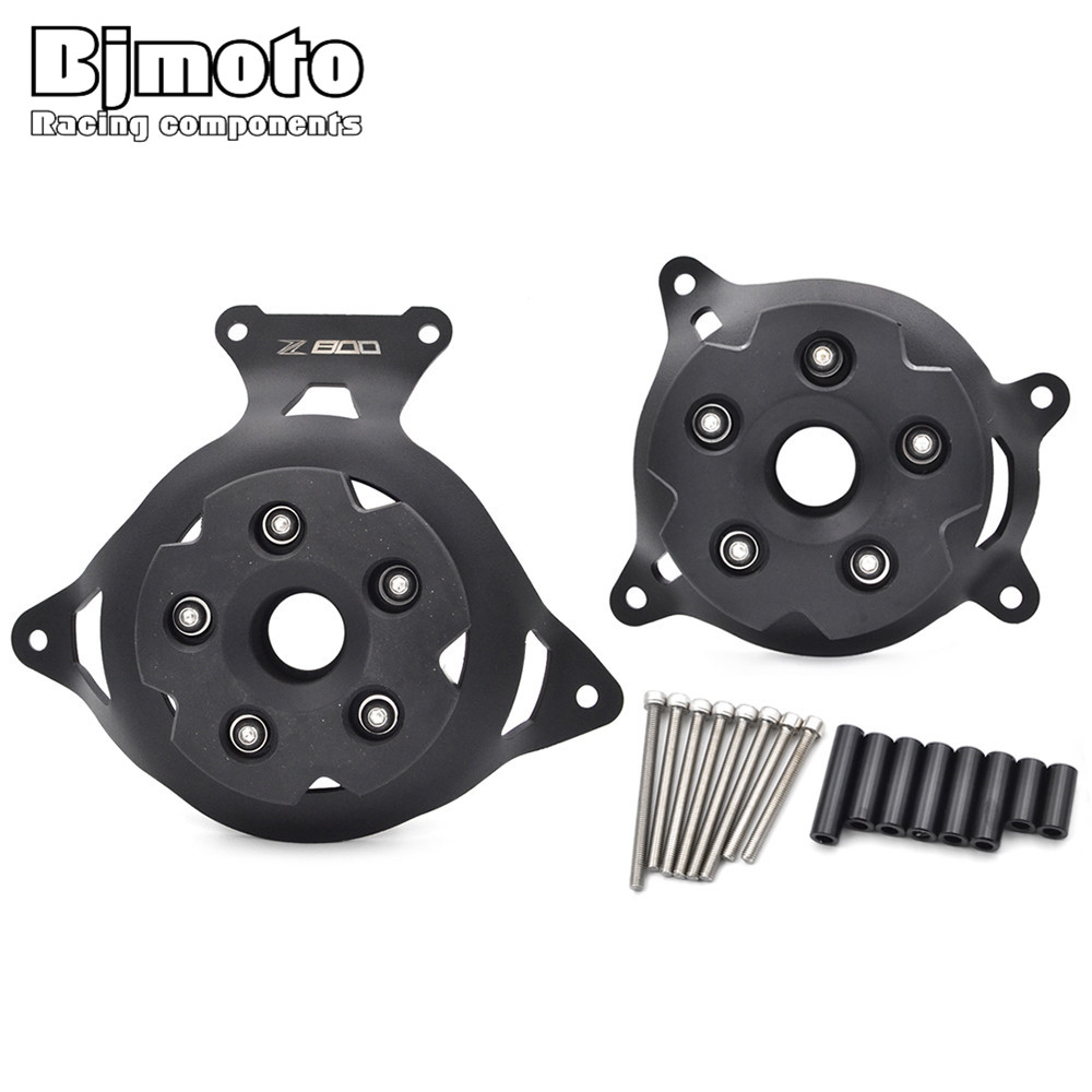 BjmotoMotobike Motorcycle Z800 logo Engine Stator Cover Guard For Kawasaki Z800 2013 2014 2015 2016 motor protector Freeshipping new products motorcycle engine protective protect cover stator engine covers for kawasaki zx10r 2011 2012 2013 2014 2015 2016