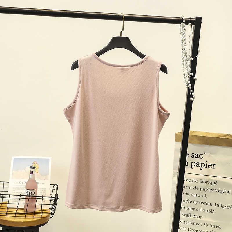 Базовая футболка, фирменная Новинка, без рукавов, элегантная женская Лоскутная Повседневная футболка в стиле пэчворк, сексуальные тонкие черные топы