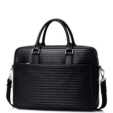 New Men's Genuine Full Grain Leather Top Handle Tote Business Bag Commercial Work Briefcase Casual Crossbody Strap Shoulder Bag