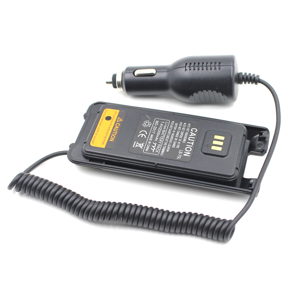 Battery Case Eliminator TYT 12-24V Car Charger For TYT MD-2017 Digital Radio DMR MD2017 Two Way Radio Walkie Talkie Auto Charger