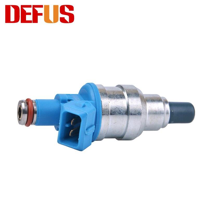 4 יחידות DEFUS 1000CC זרבובית גבוהה זרימת נפח הזרקת דלק Injector
