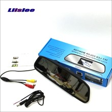 Liislee For Renault Master Rearview Mirror Car Monitor Color Screen Display 4 3 inch HD TFT