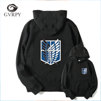 Japanese Anime Attack On Titan Hoodies Women Men Cosplay Clothing Shingeki No Kyojin Cartoon Harajuku Pullover