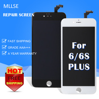 10 PCS Alibaba Aliexpress Factory LCD Screen For IPhone 6 Plus LCD Touch Display Glass Digitizer