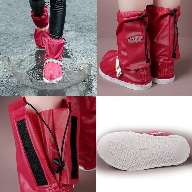 Fashionable and Waterproof Shoe Made of PVC for Women and Men Suitable for Mud Beach and Snow to Keep the Shoes Clean 1