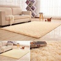 shaggy carpet for living room slip resistant door mat area rug and carpet for living room 100cm*200cm
