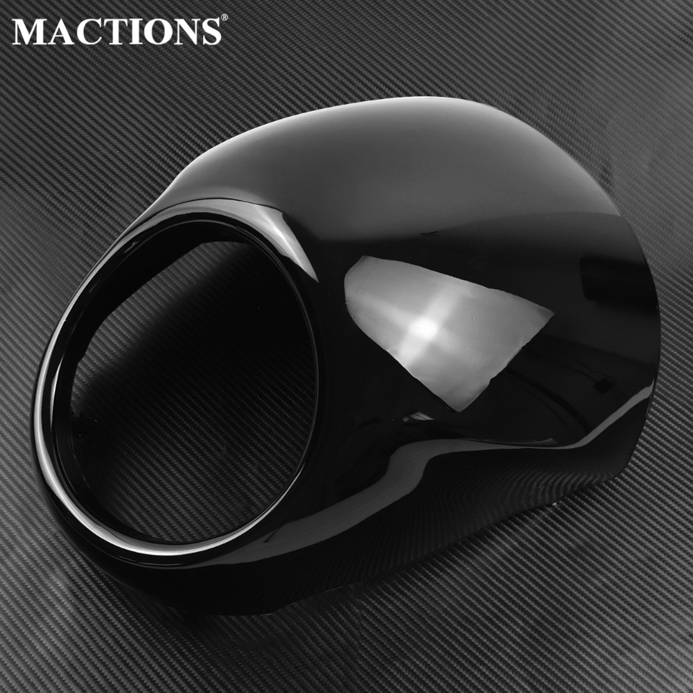 Motorcycle Front Headlight Lamp Head Light Cowl Headlamp Visor Mask For <font><b>Harley</b></font> <font><b>XG750</b></font> STREET XG 750 14-17 image