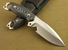 Sdfkku-2 non-slip Micarta ручка AUS-8A лезвием малый прямой нож, Охотничий нож фикчированный EDC инструменты 0513 #