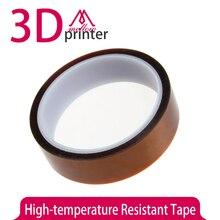 10 мм Жаропрочных Полиимид Высокая Температура Ленты для 3D Принтер Hotend/кровать