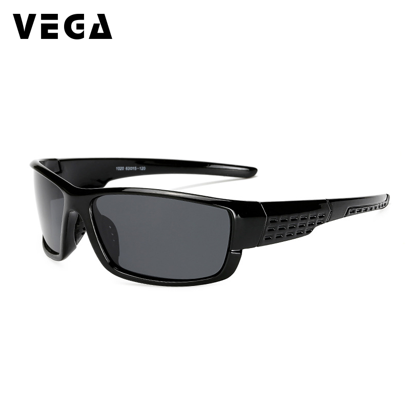VEGA Eyewear Best Women Men Sports Sunglasses Polarized Outdoor Sports Glasses for Police Biker Fishing Sport Sunglass 145