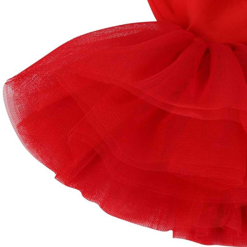 Çocuk Çocuk Kız Leotard Elbise Bale Dans Tutu Etek Dancewear Kostümleri Bale Elbiseler