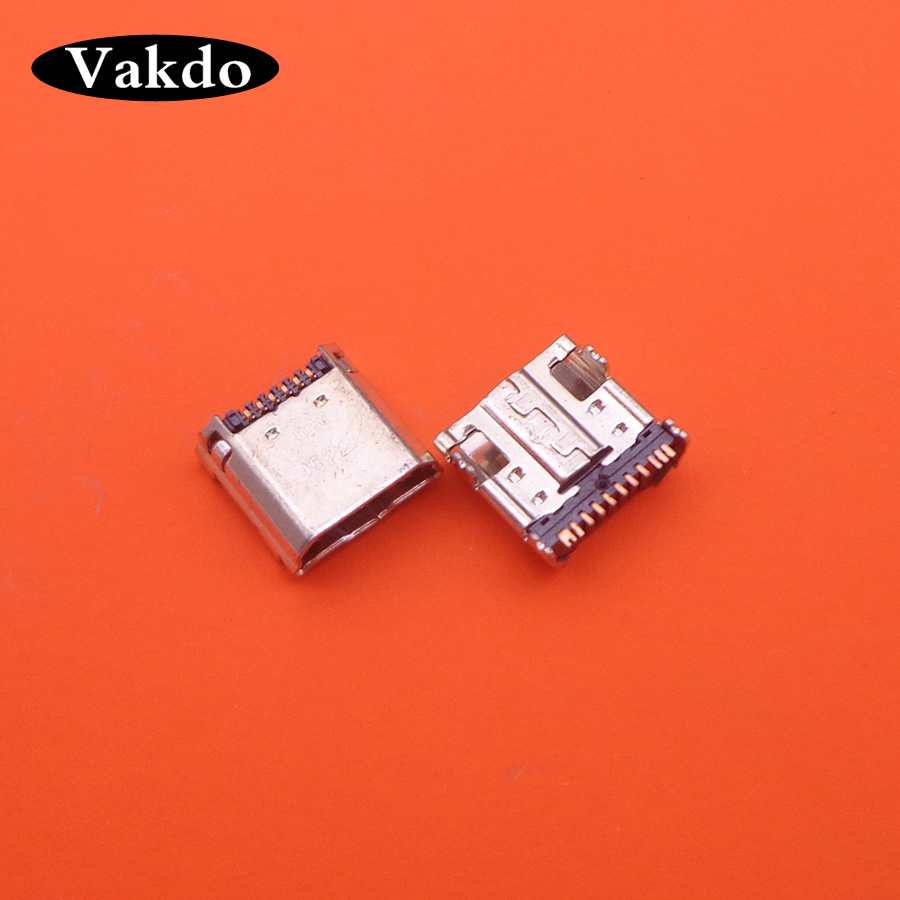30pcs/Lot ,Micro USB Plug Charging Port Connector Socket For Samsung Tab 3 7.0 I9200 I9205 P5200 P5210 T530 T210 T211 T311 I9208