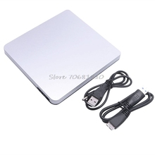 USB 3.0 CD/DVD-RW Optical Burner Writer External Drive Slim For Macbook For iMAC PC -R179 Drop Shipping