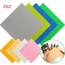 Hot 32*32 Dots Baseplates Small Bricks DIY Building Blocks Base Plate Compatible with Brand Duplo City Figures Construction Toys