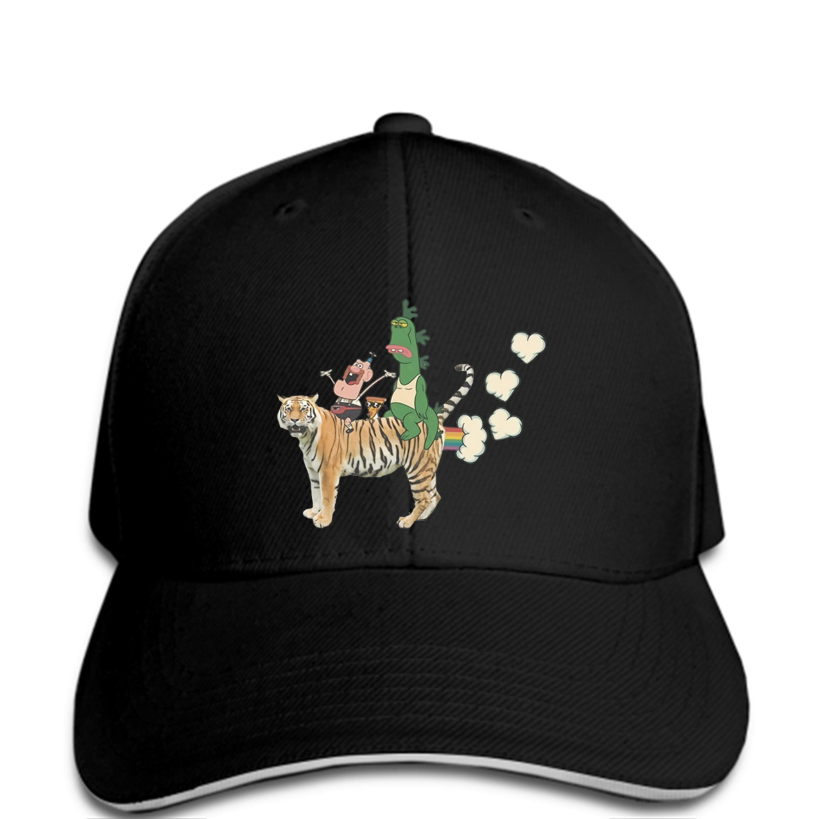 Uncle Grandpa Cartoon FART HEARTS Adult Hat Baseball cap Fashion Men Lastest