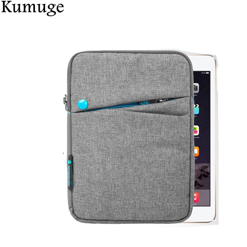 Soft Nylon 7.9 Inch Tablet Sleeve Pouch Bag for Apple iPad Mini 4 Mini 1/2/3 Funda Case Cover Capa Para for Xiaomi Mipad 2+ Pen 7 9 13 sleeve bag case universal wool felt fabric tablet cover for ipad 2 air 1 mini huawei 10 1 inch samsung mipad pouch capa