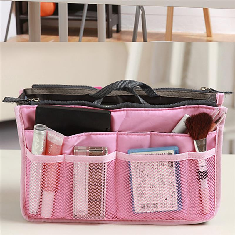 Cosmetic Bag Makeup Bag Travel Organizer Portable Beauty Pouch Functional Bag Toiletry Make Up Makeup Organizers Phone Bag Case 1