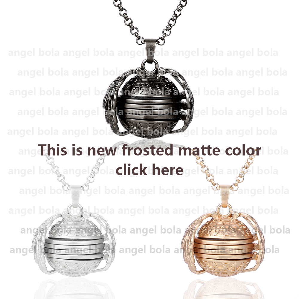 shop Magic Photo Pendant Memory Floating Locket Necklace Plated Angel with crypto, pay with bitcoin