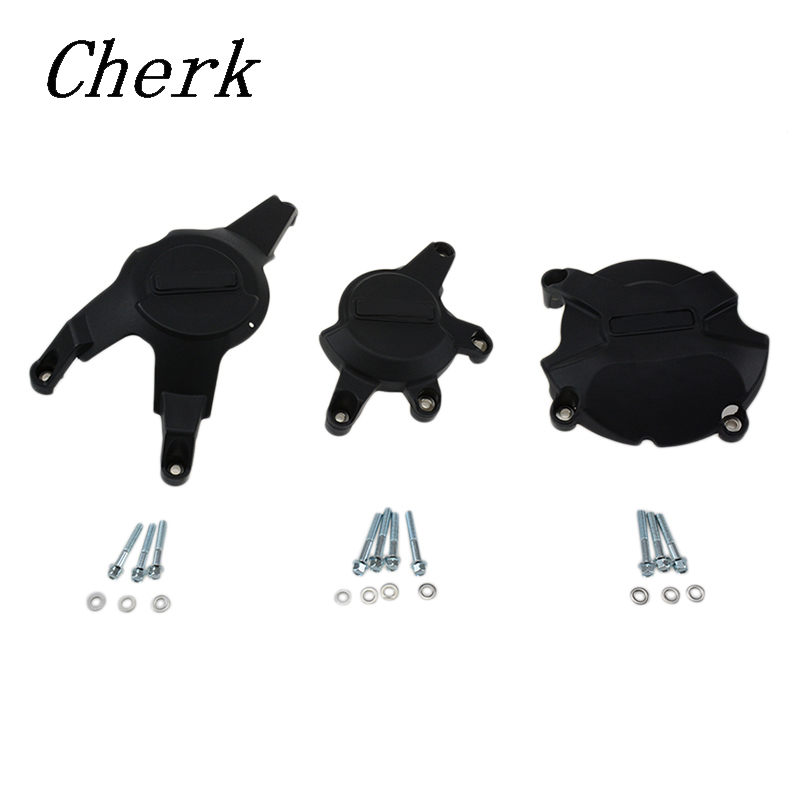 Cherk Motorcycle Nylon Plastic Engine Stator Case Cover Guard Protection Kits For GB Racing Case For Honda CBR1000RR 08-16 motorcycles engine cover protection case for case gb racing for honda cbr1000rr fireblade sp 2017 engine covers protectors