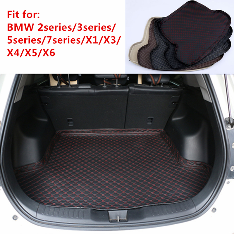 Nouveau tapis de coffre arrière de voiture personnalisé pour BMW série 2/3/5/7 X1 X3 X4 X5 X6 2015 2016 2017 2018 2019