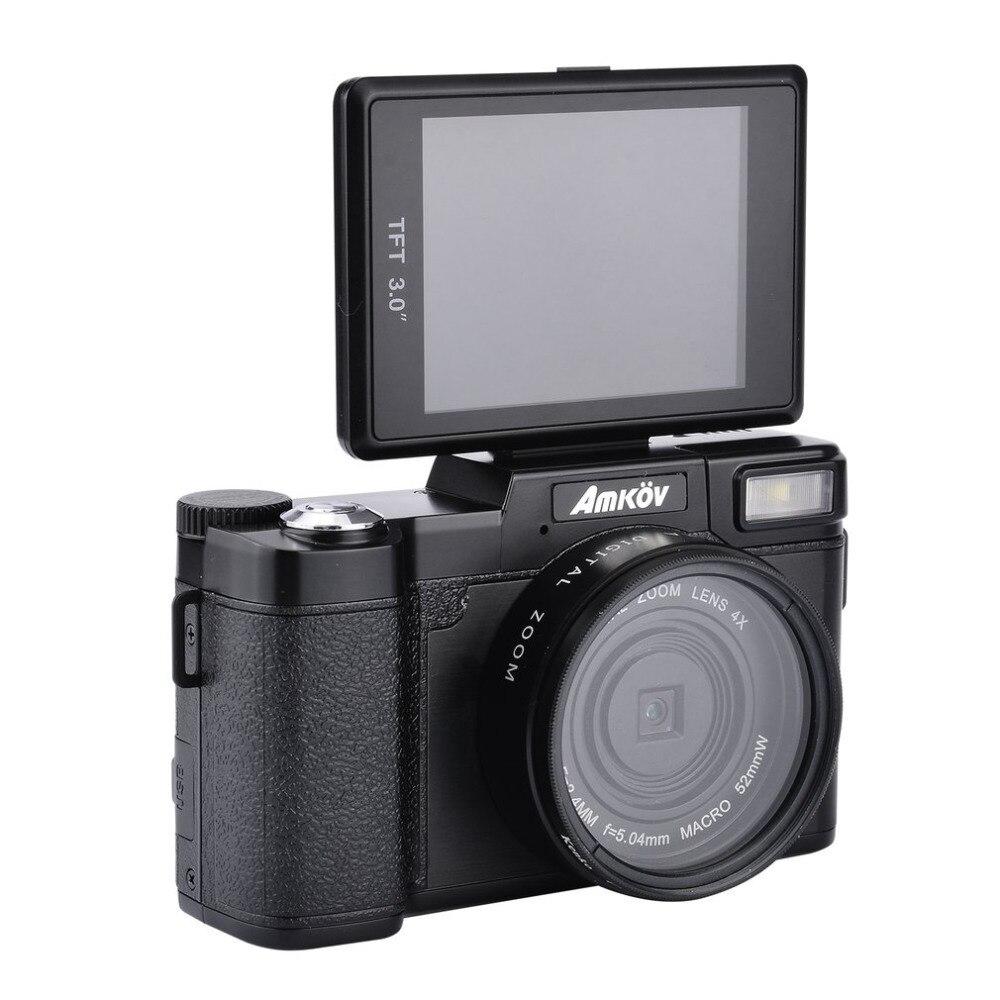 Original CDR2 24Mega pixel 1080P HD Mini Digital Camera 4Times Digital Zoom Camera with TFT Display Beauty Self timer Function