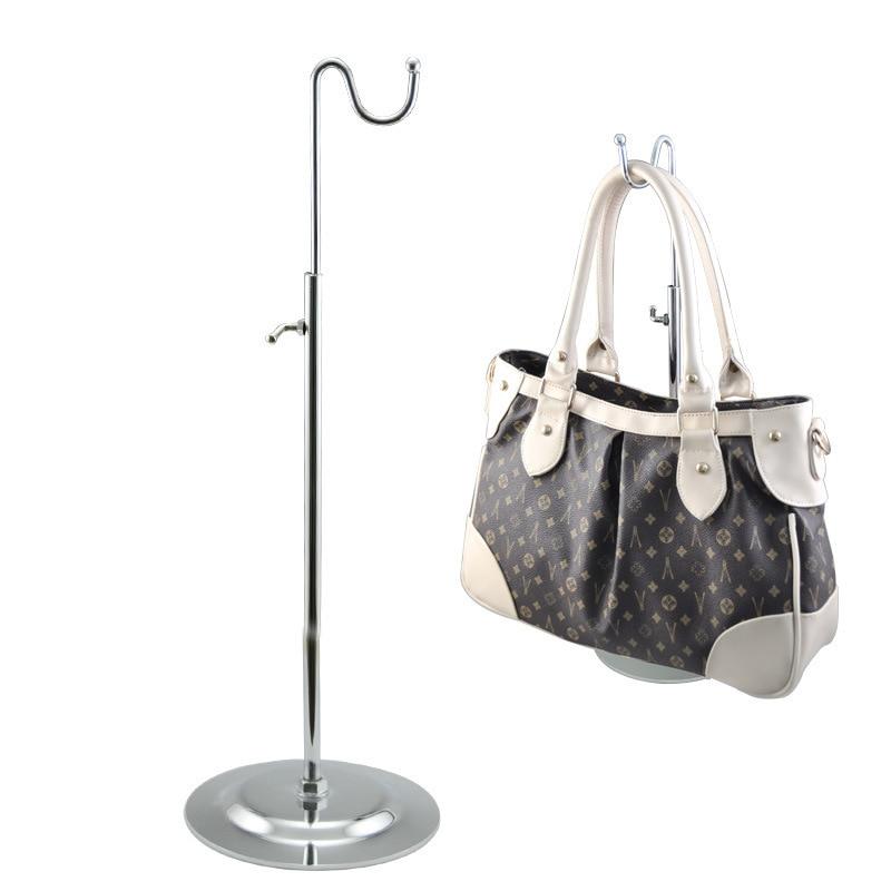 5 Pcs Scarves Wig Bag Stand Holder Hanger Adjustable Handbag Hanger