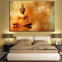 Картина из холста с HD принтом, 1 предмет, абстрактная картина буддистский постер с изображением буддистский постер для гостиной, украшения д...