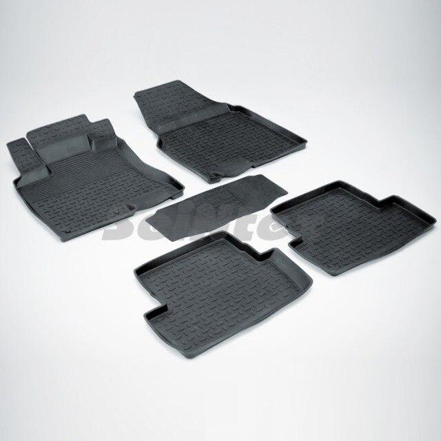 Резиновые коврики для Nissan Qashqai J10 (2007-2014) Seintex 01277