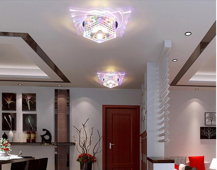 New Led Decorative Ceiling Light Modern Lights For Living Room Lighting Ac200 240v Plafond Lamp Free Shipping In From