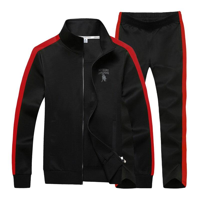 Men Tracksuit Set Plus Size 7XL 8XL 9XL Sportwear Men Hoodie Sweatshirt Sweatpants Mens Tracksuits Spring Autumn pants joggers