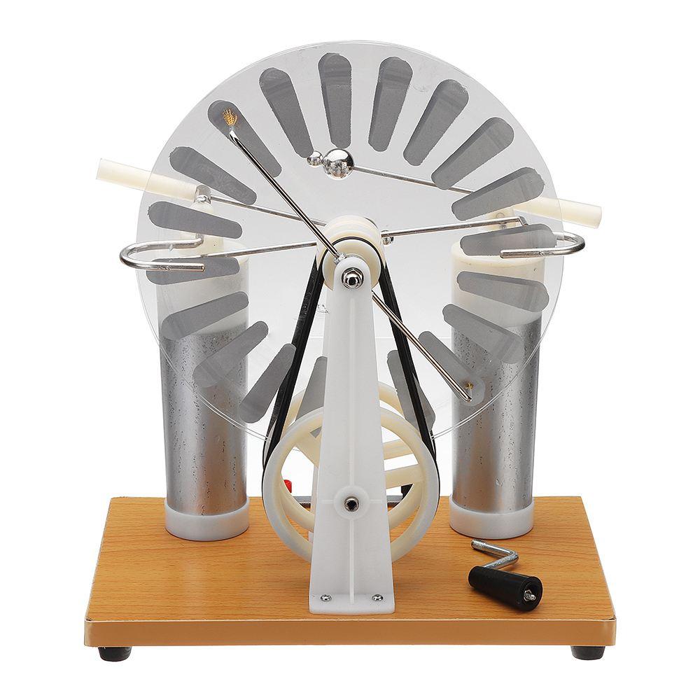 Machine statique physique générateur électrostatique équipement électrique démonstration collège/lycée éducation scientifique
