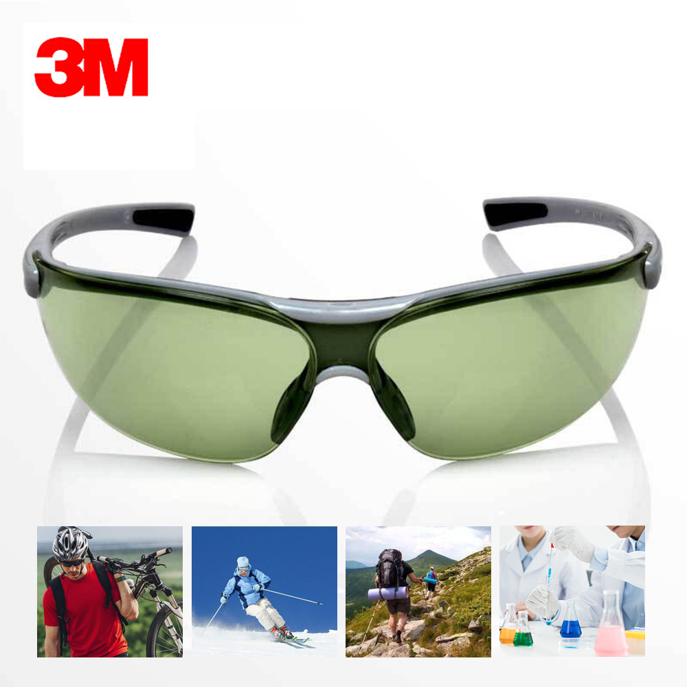 3M 1790G Goggles Indoor/Outdoor Work Sports  Anti-UV Anti Shock Glasses Anti-dust Safety Goggles Anti Ultraviolet Rays(China)