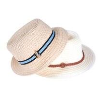 De verano sombrero de paja muñeca vestido accesorio para 18 pulgadas muñeca  43 cm muñeca accesorios de la muñeca 2 Estilo 869b6b01aa3