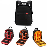 c63d8efe17c Waterproof Digital DSLR Camera Backpack Photo Padded Backpack W Rain Cover  Multi Functional SLR Camera Soft