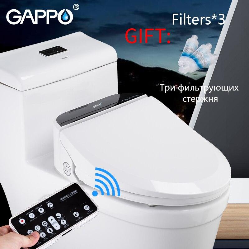 GAPPO Smart siège de toilette intelligent siège de toilette bidets électriques smart sièges de toilette Massage soin pour enfant femme l'ancien 110V AC