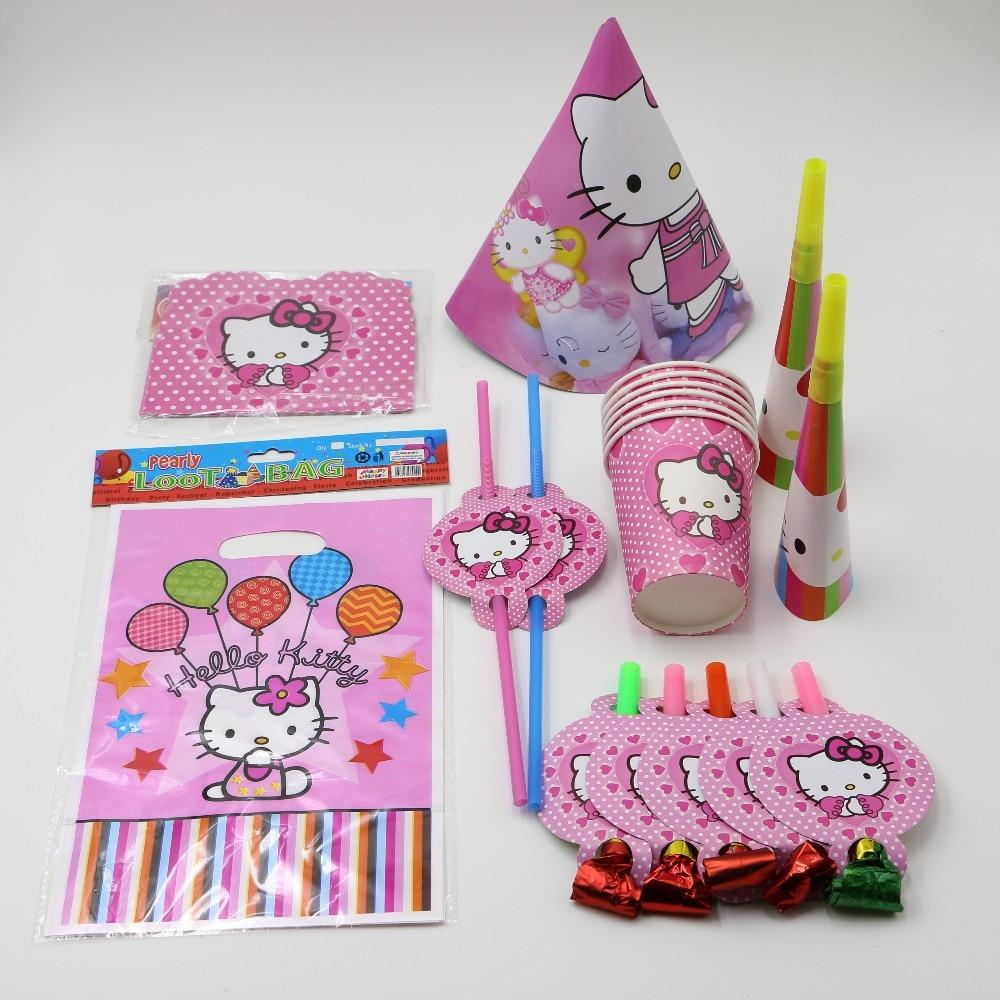 Aliexpresscom Buy Kids birthday party supplies set decotations