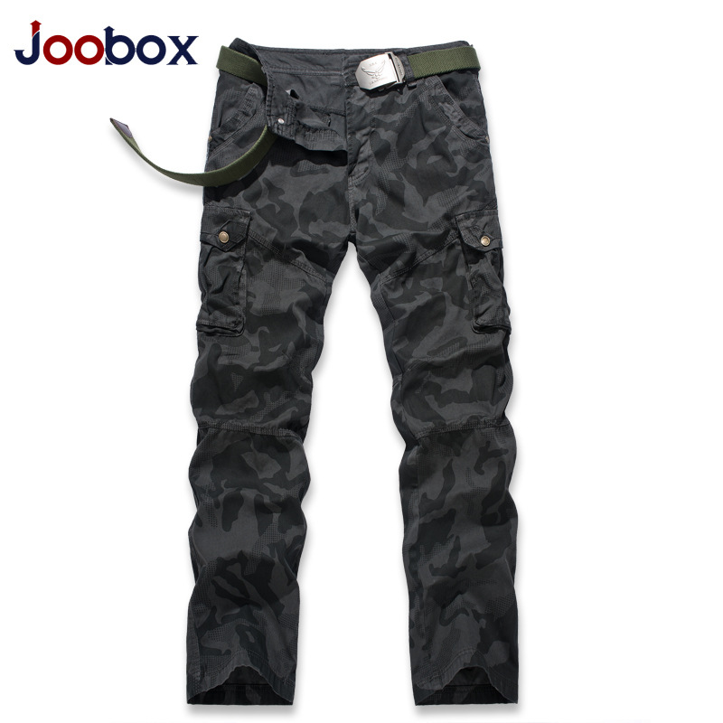 JOOBOX Mens Casual Trousers Military Camouflage Pants 10pcs