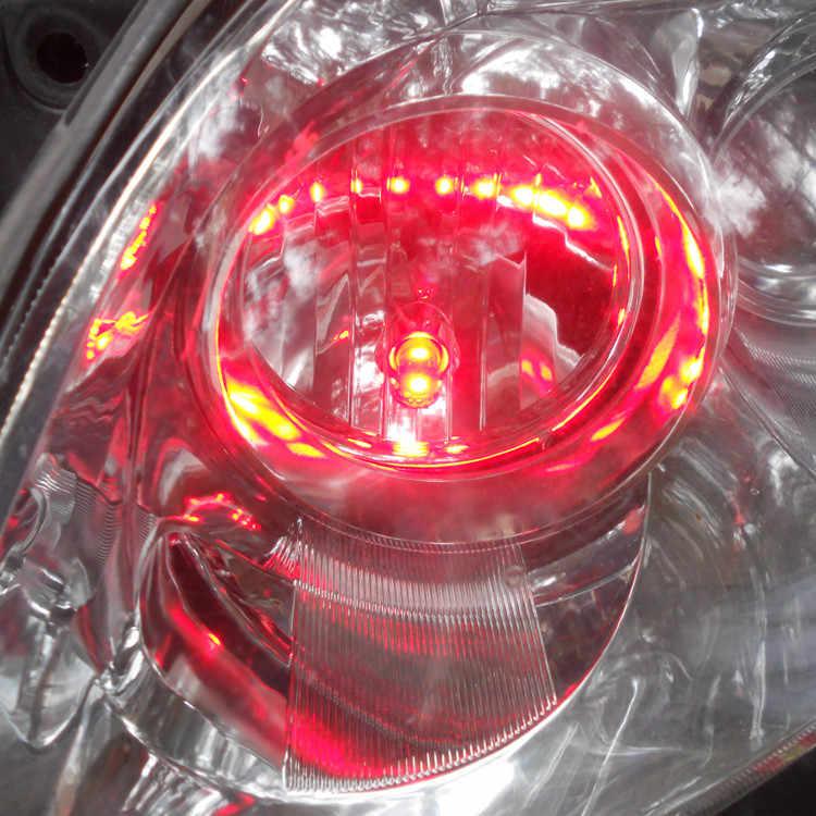 12 V LED Rot Auto T10 (10mm Flutlampe) W5W, 5d für Tür Stamm Boot Lizenz Leselicht