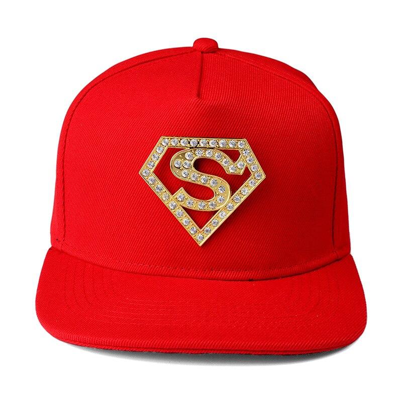 Women Men Bling Golden Rhinestone Snapback Hat Gorras hip hop Diamond  Superstars S Letter Baseball Caps-in Baseball Caps from Apparel Accessories  on ... 90023e0172a5