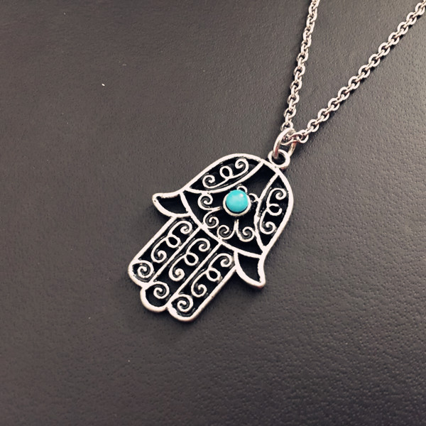 1pc charms lucky israel hamsa god hand colar choker pendant necklace 1pc charms lucky israel hamsa god hand colar choker pendant necklace fatimah religion gold plated eye necklaces womens jewelry in pendant necklaces from aloadofball Image collections