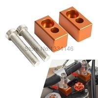 Motorcycle 22mm Handlebar Riser Kit For KTM 125 150 200 250 350 450 530 SX EXC