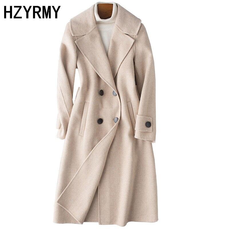Mujer gris Chaqueta rosado Lana 2018 Cachemira Beige Doble Cara Nuevo De  Abrigo Caliente Calidad Otoño Invierno Las Moda Hzyrmy Mujeres Gruesa  q7wTHRwn cd0c69cd4a2f